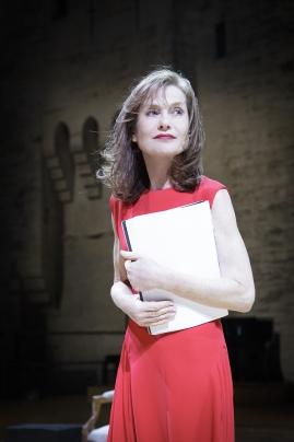 Isabelle Huppert - (c) Christophe Raynaud de Lage / Festival d'Avignon