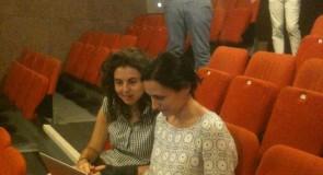 Magda Bizarro et Ângela Rocha, créatrices mille-pattes d'« Antoine et Cléopâtre »