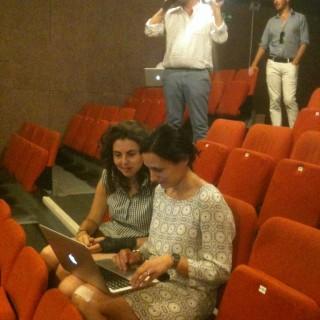 Magda Bizarro et Ângela Rocha, créatrices mille-pattes d'« Antoine et Cléopâtre»