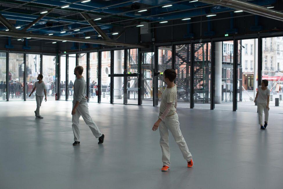 Work / Travail / Arbeid au Centre Pompidou