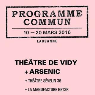 Le festival Programme commun