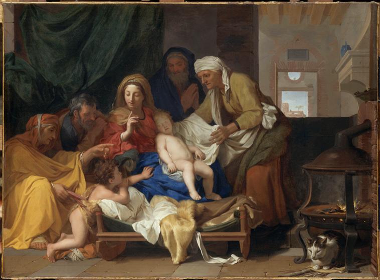 Charles Le Brun, Le Sommeil de l'Enfant Jésus, 1655 Photo © RMN-Grand Palais (musée du Louvre) - Franck Raux
