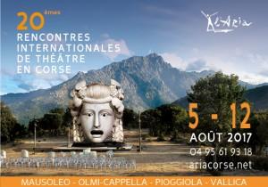ARIA: 20e Rencontres internationales de théâtre en Corse