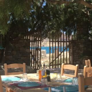 La table idéale pour bien manger à Mykonos