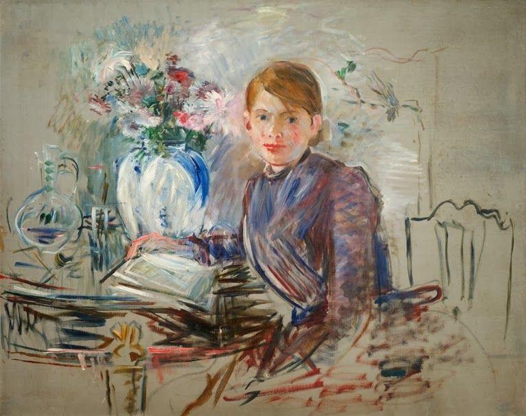 Berthe Morisot, Jeune fille à la potiche, 1889