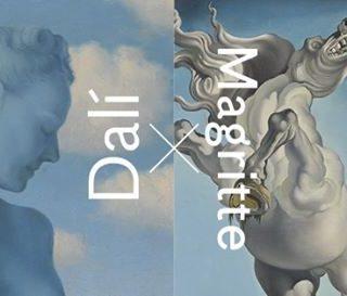Magritte et Dali en dieu Janus