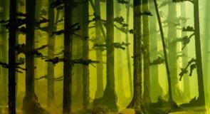 Arbres, champignons : l'art broute